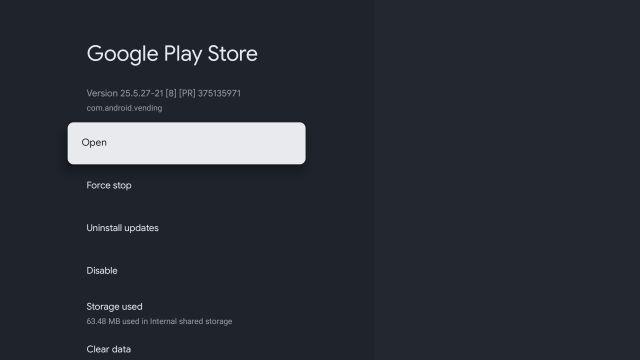 Método 2: acceda a Play Store desde la configuración