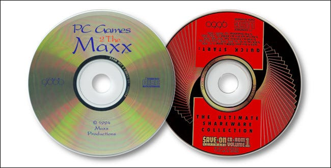 Dos CD de shareware