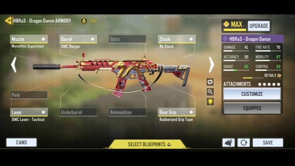 Máscaras de armas más raras en COD Mobile
