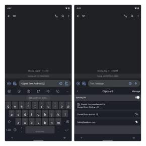 copiado en android 12 vs copiado de windows