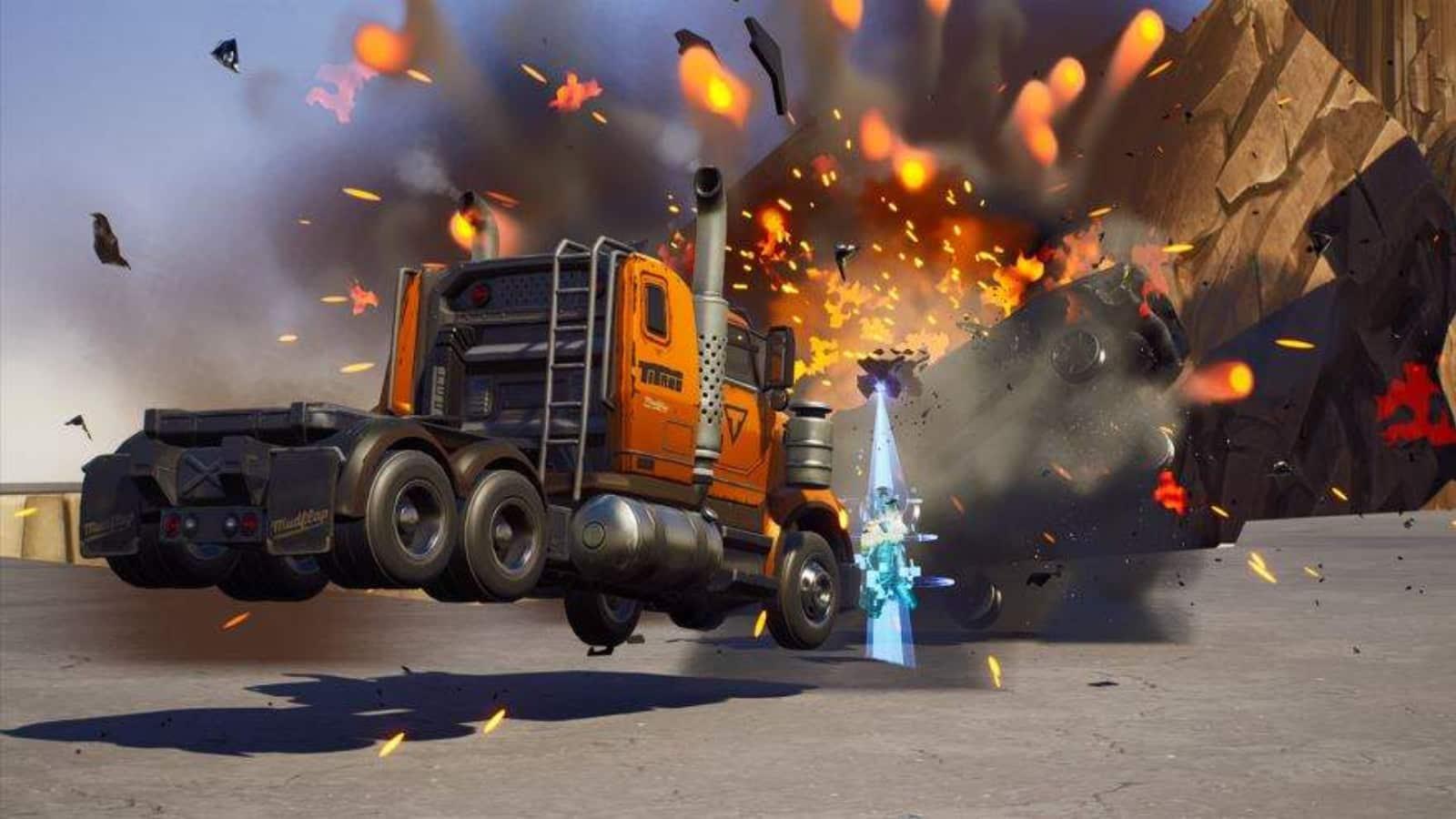 Fortnite Truck Pursuit: nuevo código de mapa creativo y todo al respecto