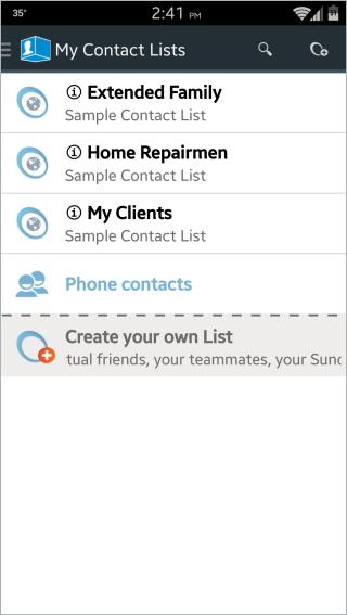 ContactBox Main