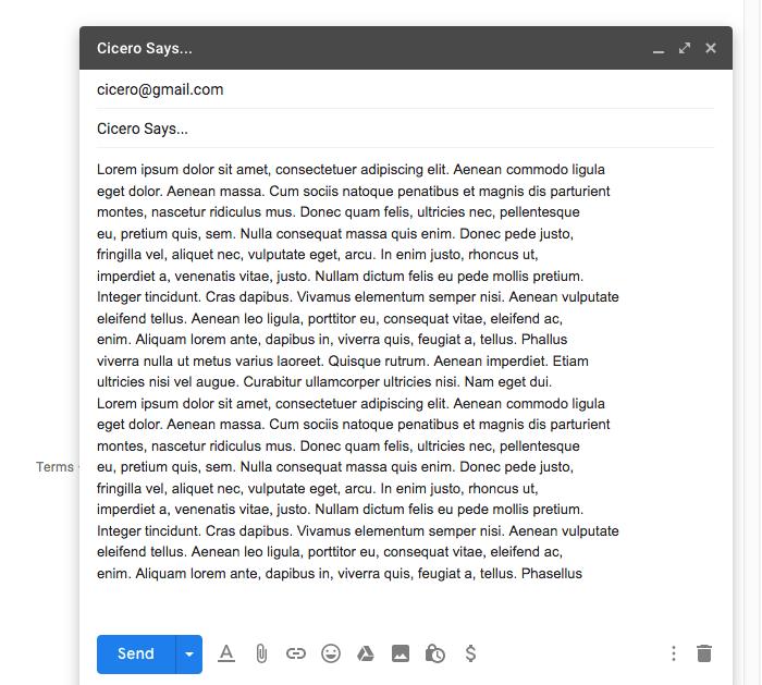 Programar correo electrónico Correo electrónico de Gmail