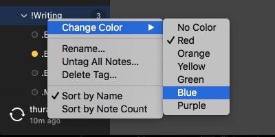 Etiqueta de color Alternote -mte-