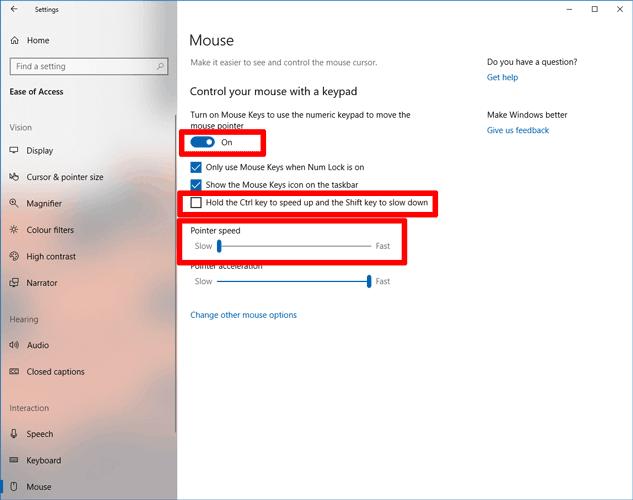 cómo-usar-el-mouse-con-teclado-windows-10-mouse-control