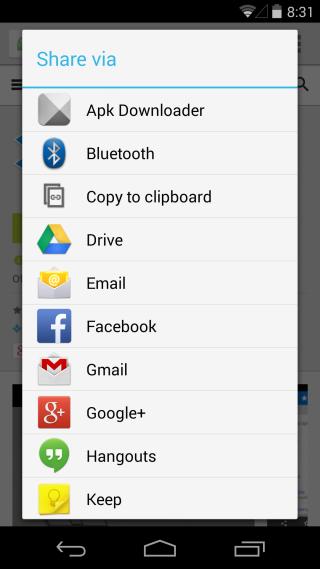 Apk Downloader Extension compartir