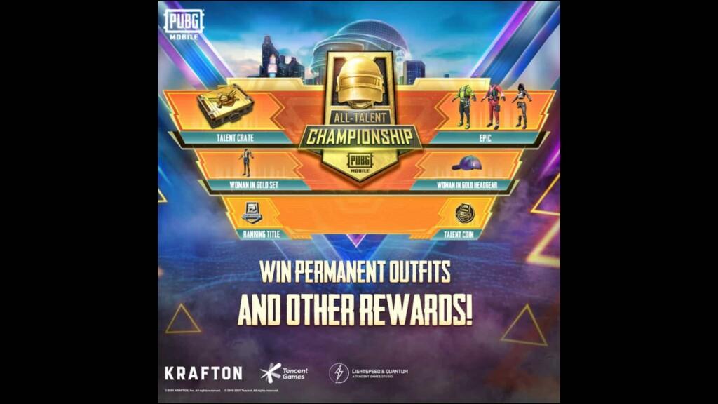 PUBG Mobile All Talent Championship 2021: ¡Formato, recompensas y todo lo que necesitas saber!