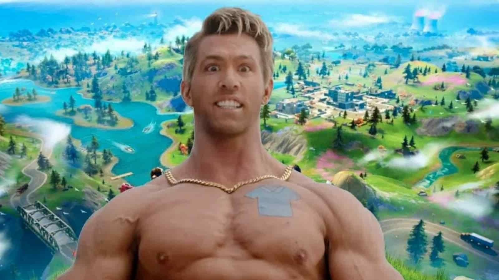 Fortnite Dude Skin: Ryan Reynolds Free Guy New Skin en la temporada 7