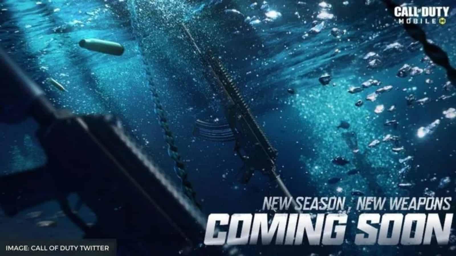 Fecha de lanzamiento de la temporada 5 de COD Mobile: Detalles de aguas profundas