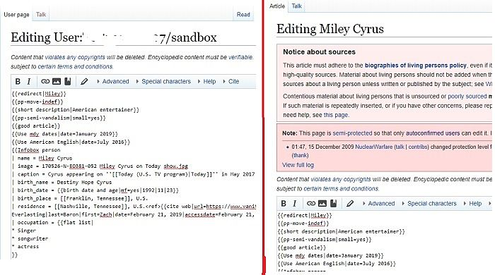 Aprenda las habilidades de edición de Wiki en Sandbox