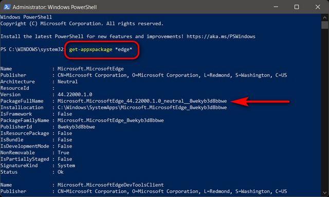 Cómo eliminar, eliminar y desinstalar Microsoft Edge de Windows 11