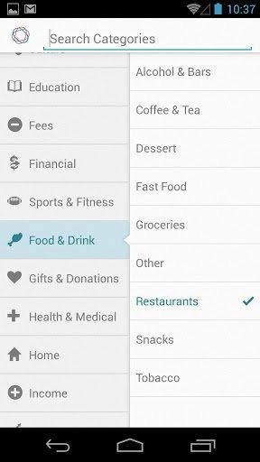 Opciones simples de Android