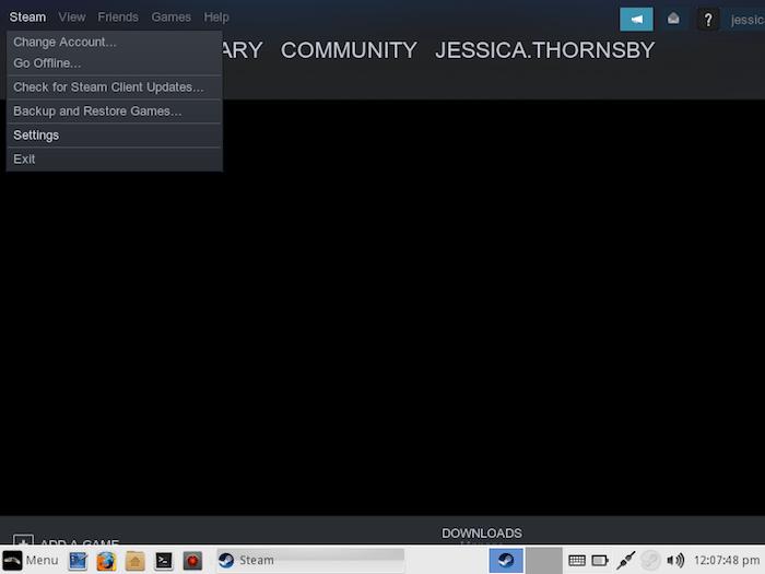 Habilitar Steam Play Linux