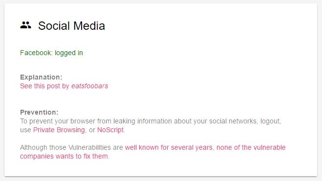 Lo que todo navegador sabe sobre ti-social