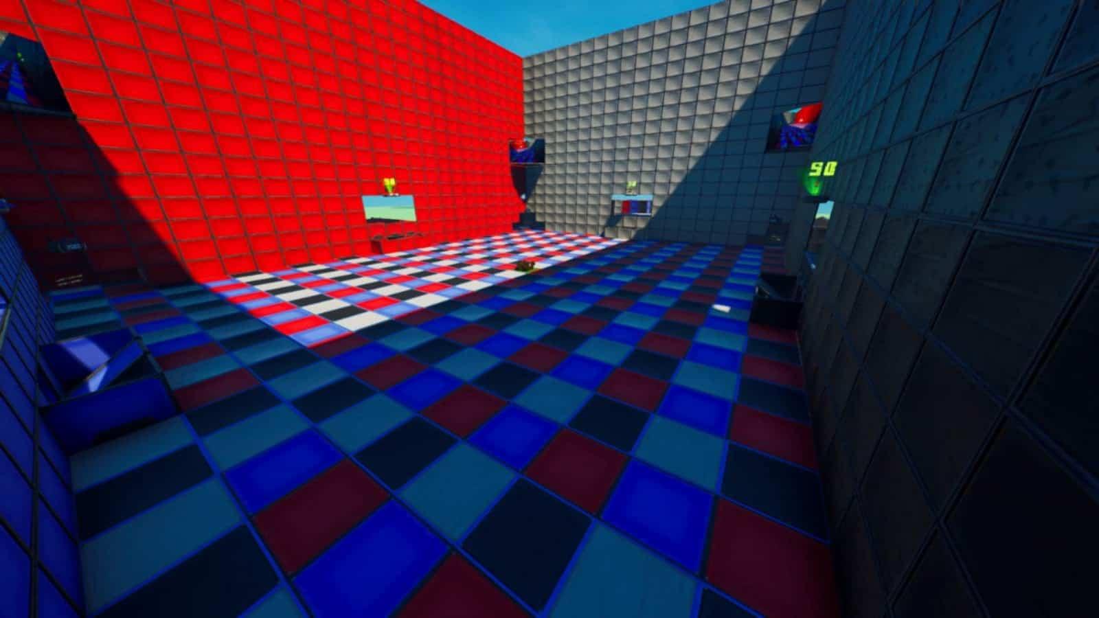 Fortnite Orange vs Blue 100: Nuevo código de mapa creativo y todo al respecto