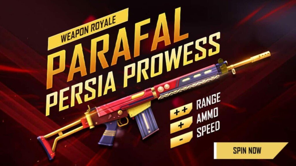Destreza de Parafal Persia en Free Fire