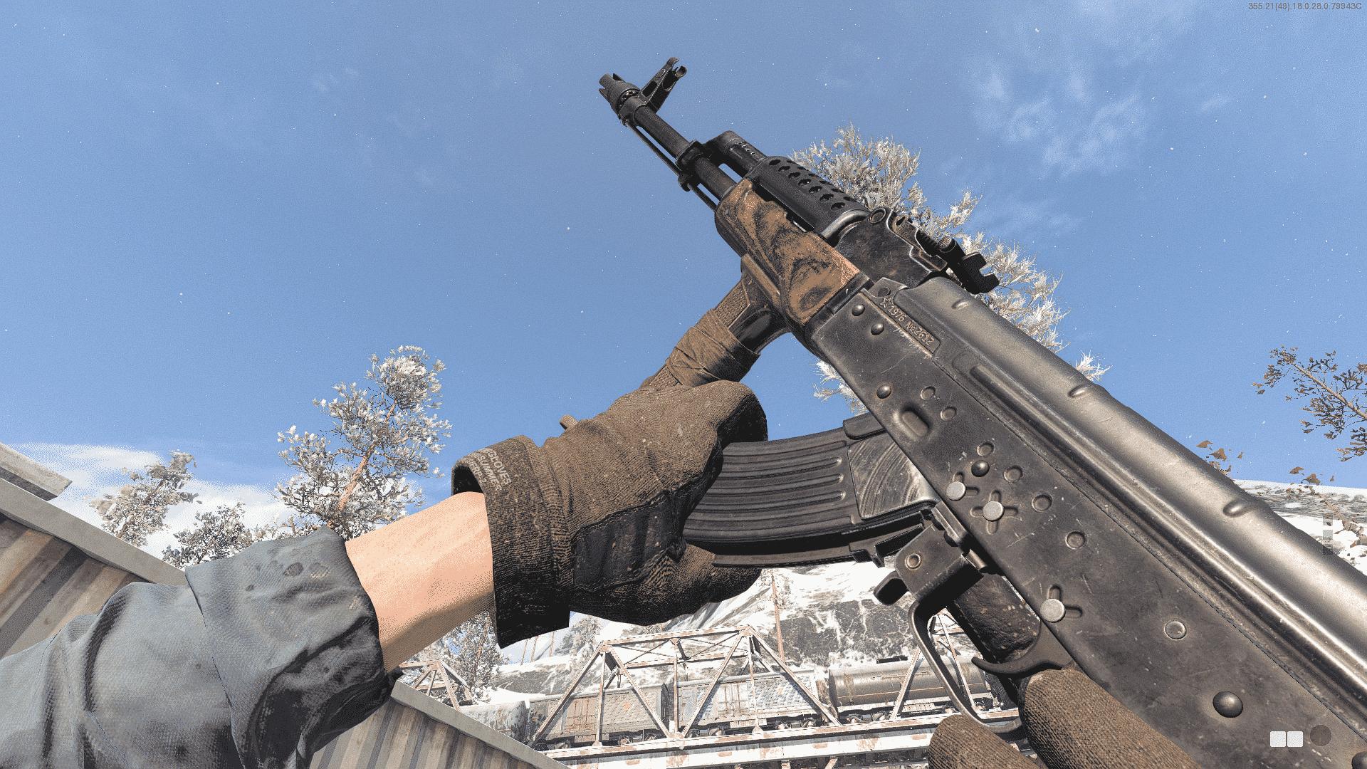 Carga del AK-47 de la Guerra Fría de Black Ops