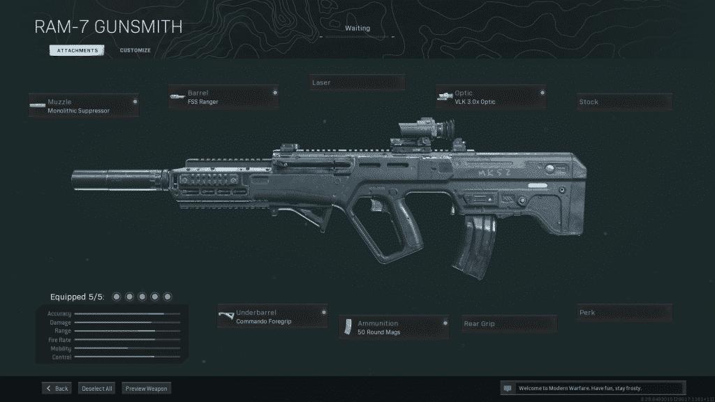 Mejor equipamiento de Warzone RAM-7