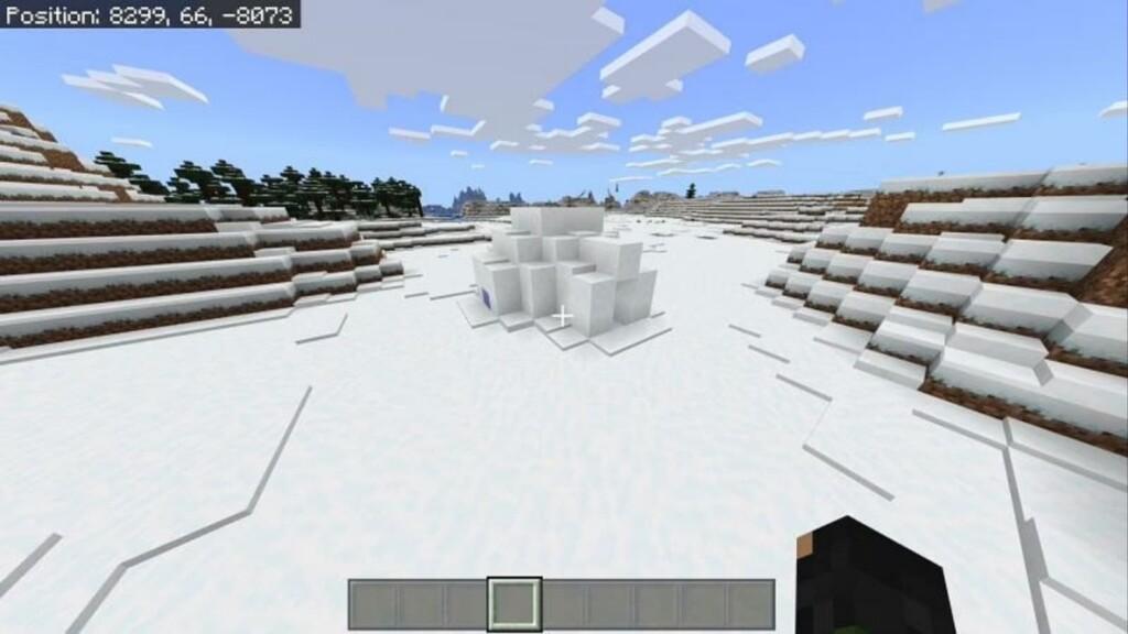 Iglú de Minecraft