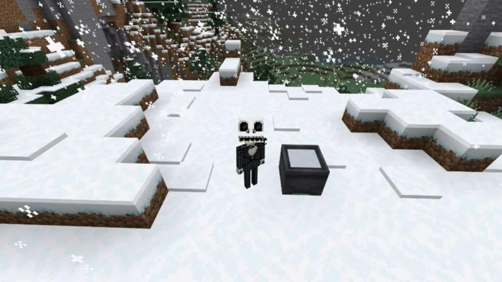 Minecraft nieve en polvo