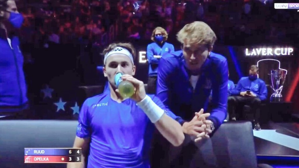 Casper Ruud y Alexander Zverev