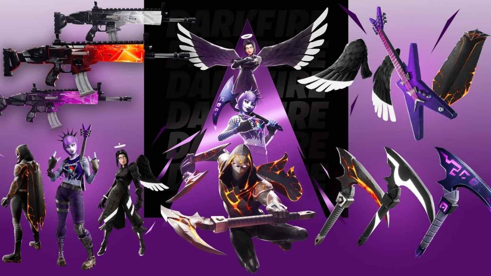 Paquete Fortnite Darkfire: el nuevo paquete regresa en la temporada 7