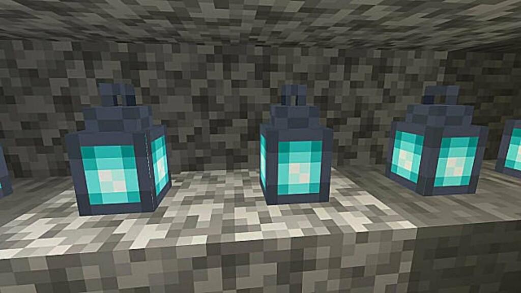 Soul Lantern en Minecraft