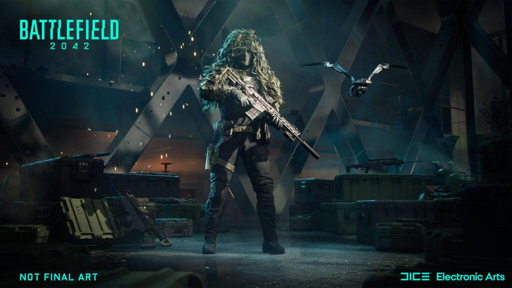 Especialista en reconocimiento de Casper en Battlefield 2042
