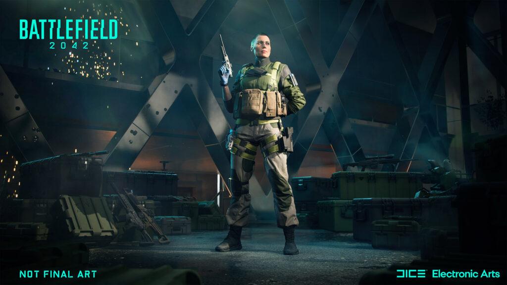Battlefield 2042 especialista en asistencia de Falck