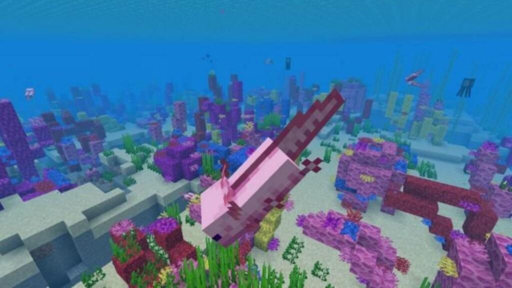 Minecraft Axolotls