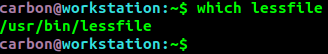 Comparar qué archivo menos