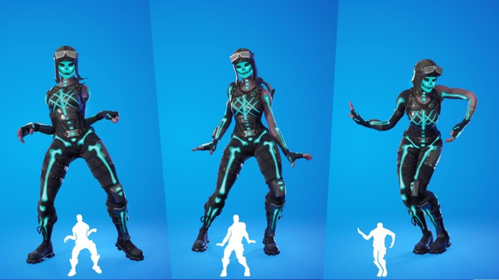 Cómo obtener un nuevo aspecto Fortnite Skeletara en la temporada 8