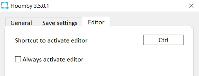 Editor de Floomby