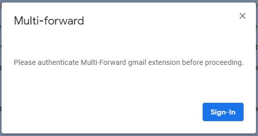 reenviar varios correos electrónicos gmail chrome autorizar