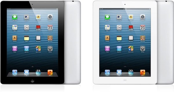 Foto de la pantalla Retina del iPad