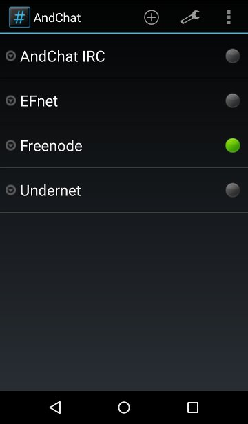 android-irc-andchat