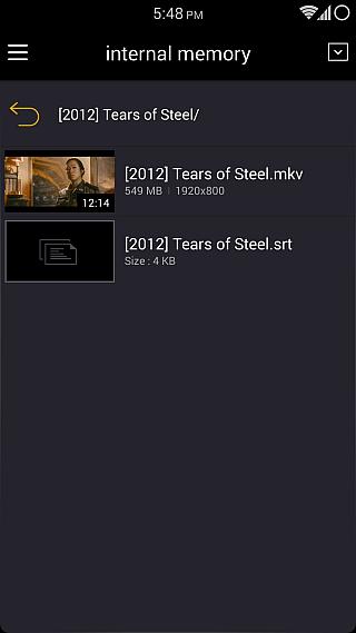 KMPlayer para Android 4