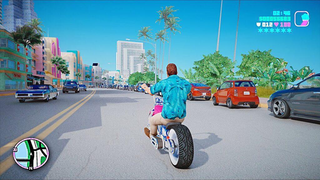 Tommy en Vice City mod para GTA V