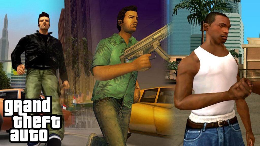 Remasterización de la trilogía de GTA