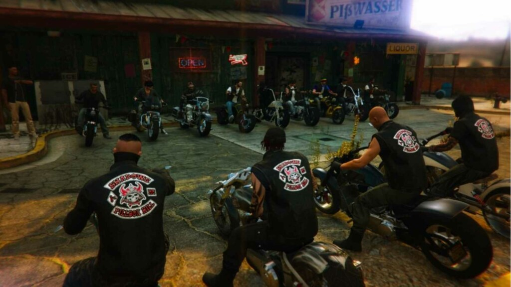 Cómo formar un club de motociclistas en GTA 5
