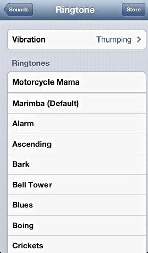 tono de llamada de vibración de iOS