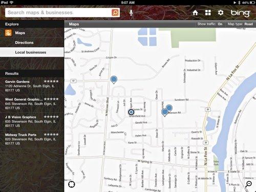 MapsApp-Bing