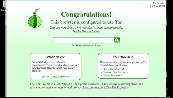 listo para tor-browser