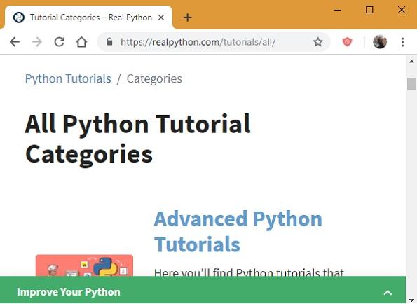 Tutoriales avanzados de Real Python