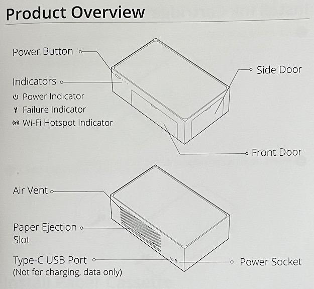 Puertas de botones de puertas de impresora fotográfica Liene