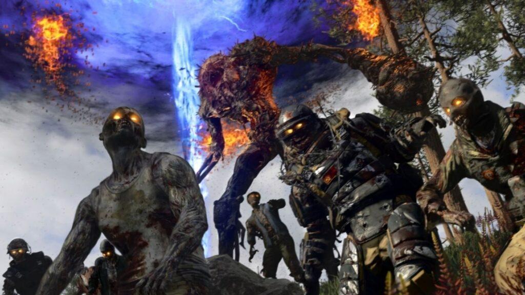 enemigos zombies en brote