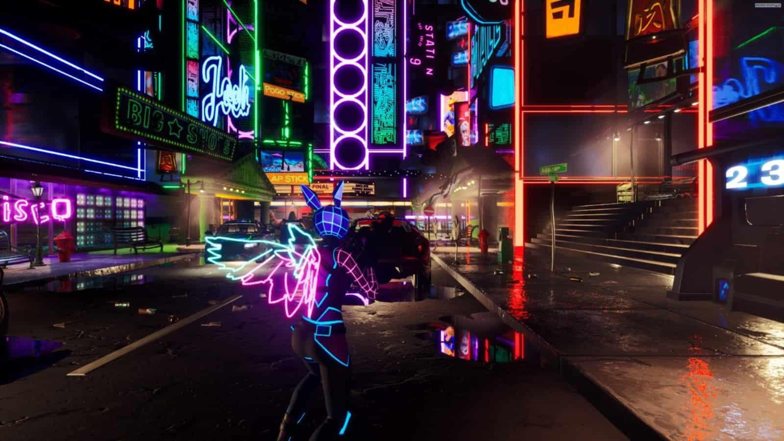 Código creativo de Fortnite Cyber Gunfight y cómo jugar