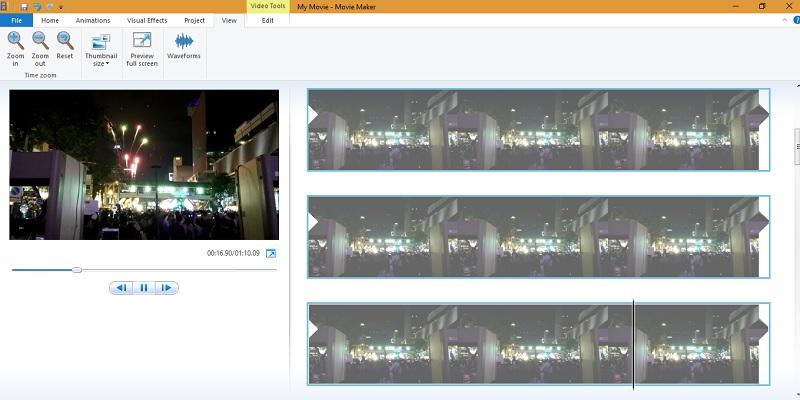 Windows Movie Maker - Importar videos