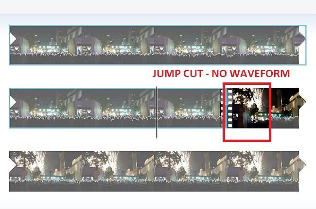 Windows Movie Maker-Quitar cortes de salto