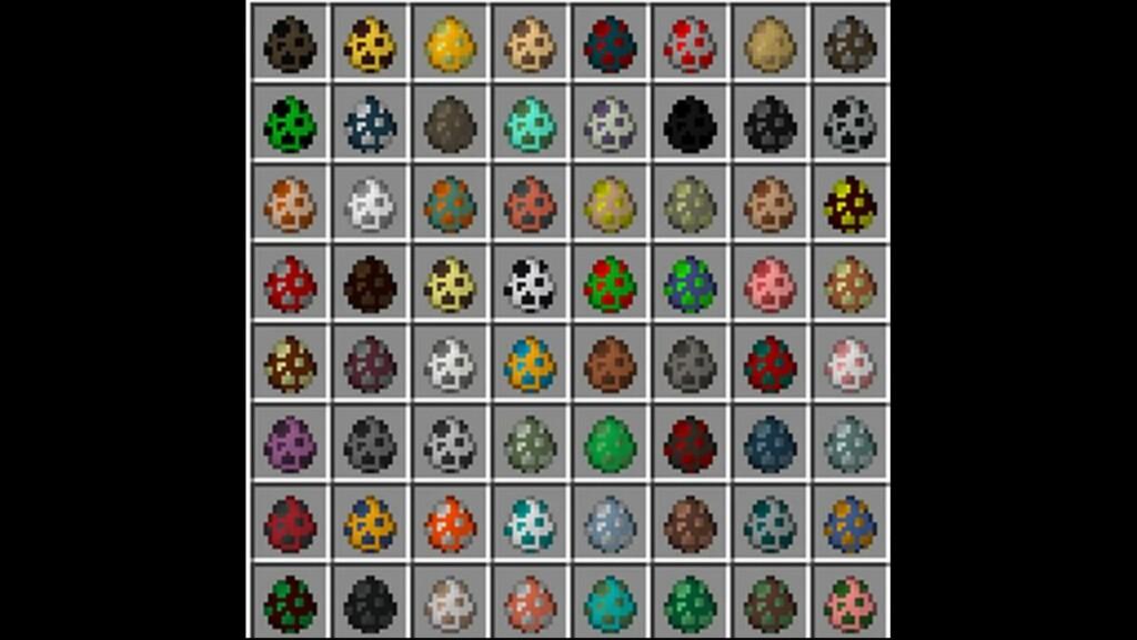 Generar huevos en Minecraft